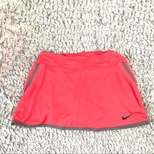 Nike coral skirt skort